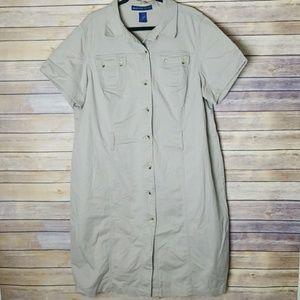 Avenue Stretch Khaki Dress 24